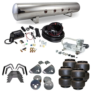 Stage 3 Air Suspension System with Air Lift Management- 81-93 Dodge Ram