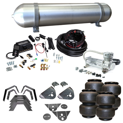 Stage 3 Air Suspension System with Air Lift Management- 79-95 Toyota Pickup