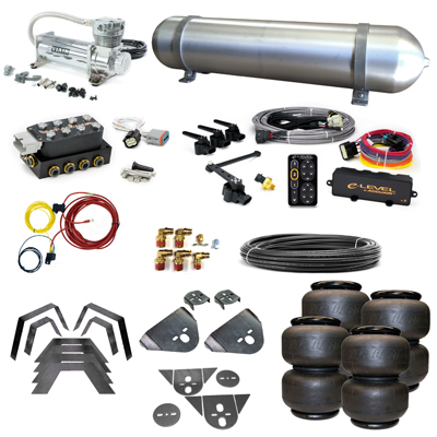 Stage 3 Air Suspension System with Accuair eLevel Management- 80-86 720