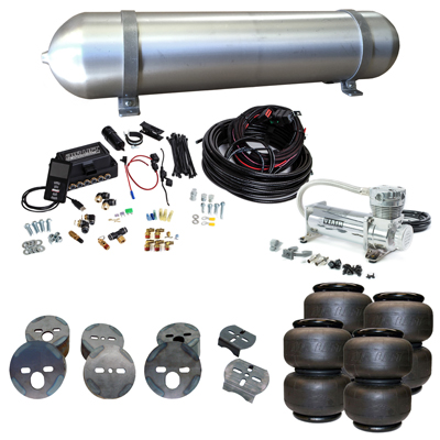 Stage 3 Air Suspension System with Air Lift Management- 78-88 G-Body